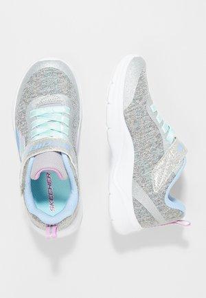 TECH GROOVE - Sneaker low - gray heather/light blue/lavender