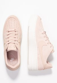 Nike Sportswear - AIR FORCE 1 SAGE - Trainers - particle beige/phantom - 3