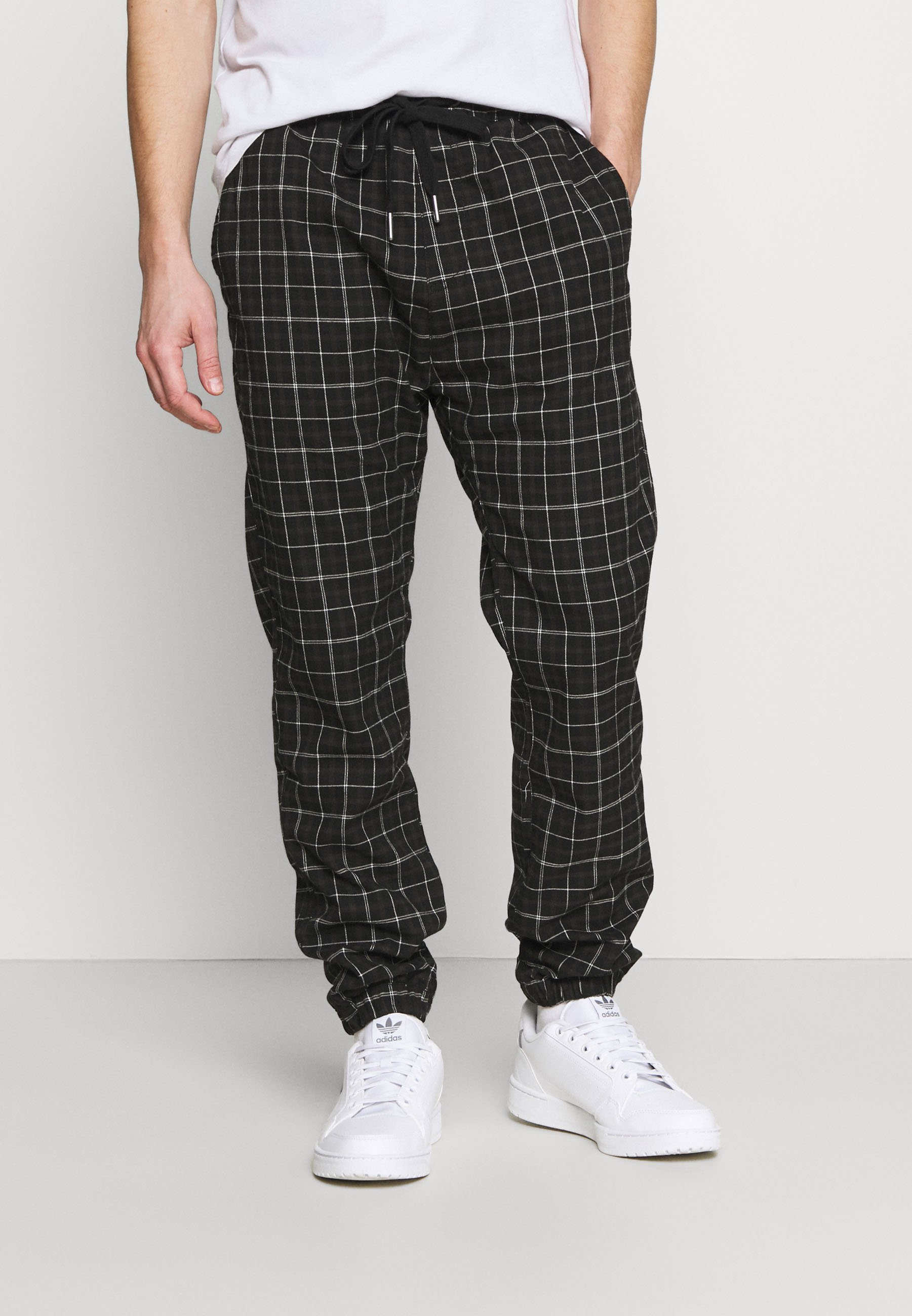 Men DRAKE CUFFED PANT - Trousers - shadow