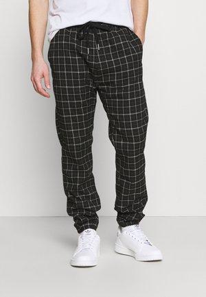 DRAKE CUFFED PANT - Pantaloni - shadow