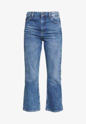 TROUSERS - Bootcut jeans - boho indigo
