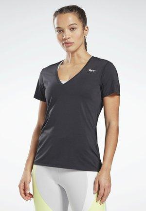 ONE SERIES ACTIVCHILL - Basic T-shirt - black