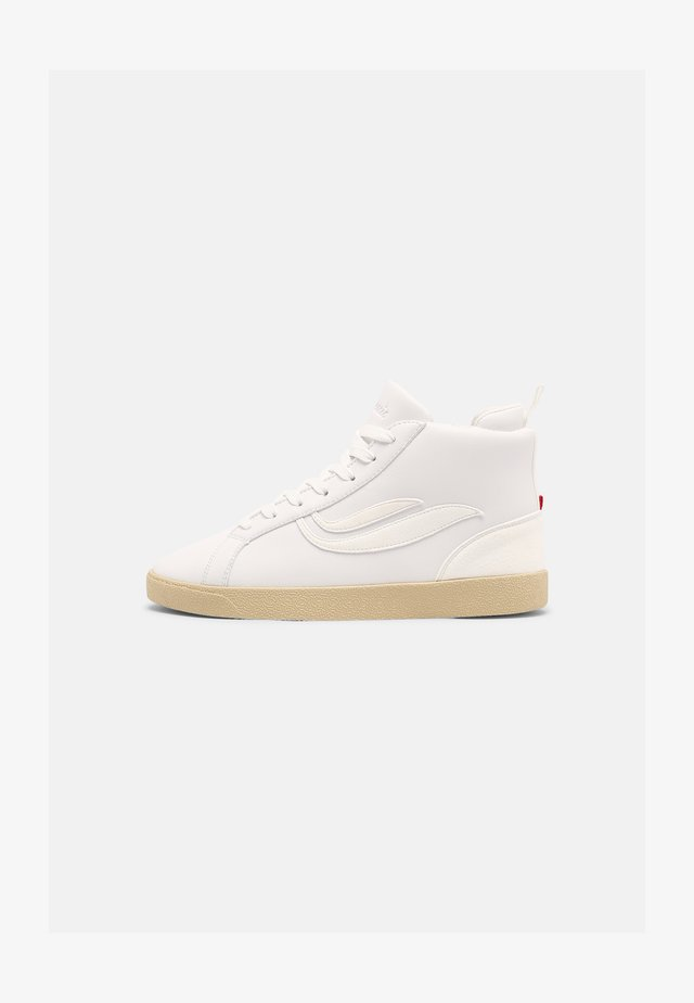 G-HELÁ MID ECO UNISEX - Sneakers alte - white