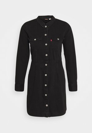 ELLIE DRESS - Robe en jean - black book