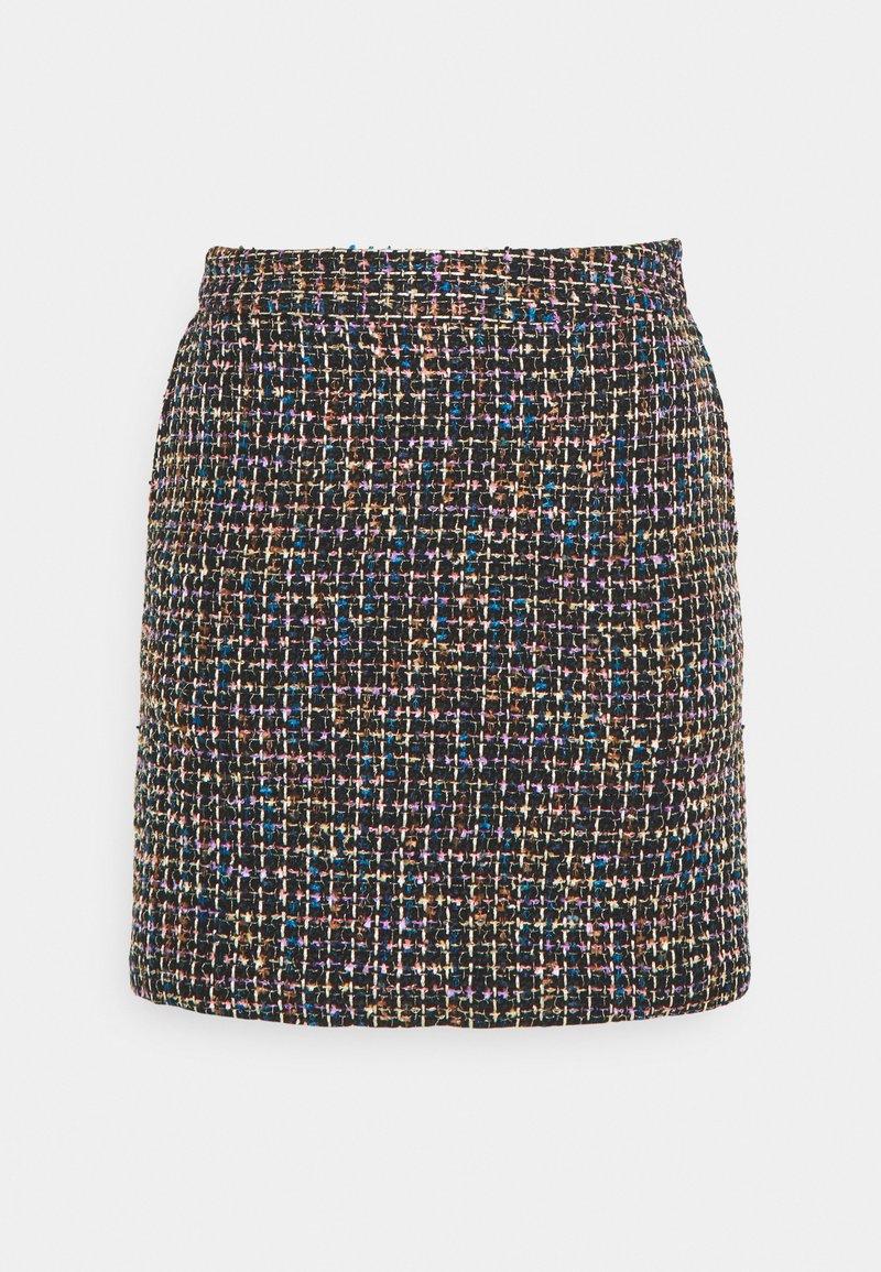 YAS - YASSMILLA MINI SKIRT - Mini skirt - black