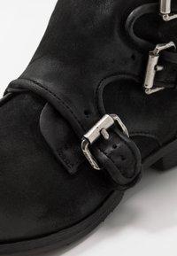 A.S.98 - CLASH - Cowboy/biker ankle boot - nero - 5