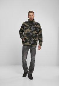 Brandit - Fleece jumper - darkcamo - 1