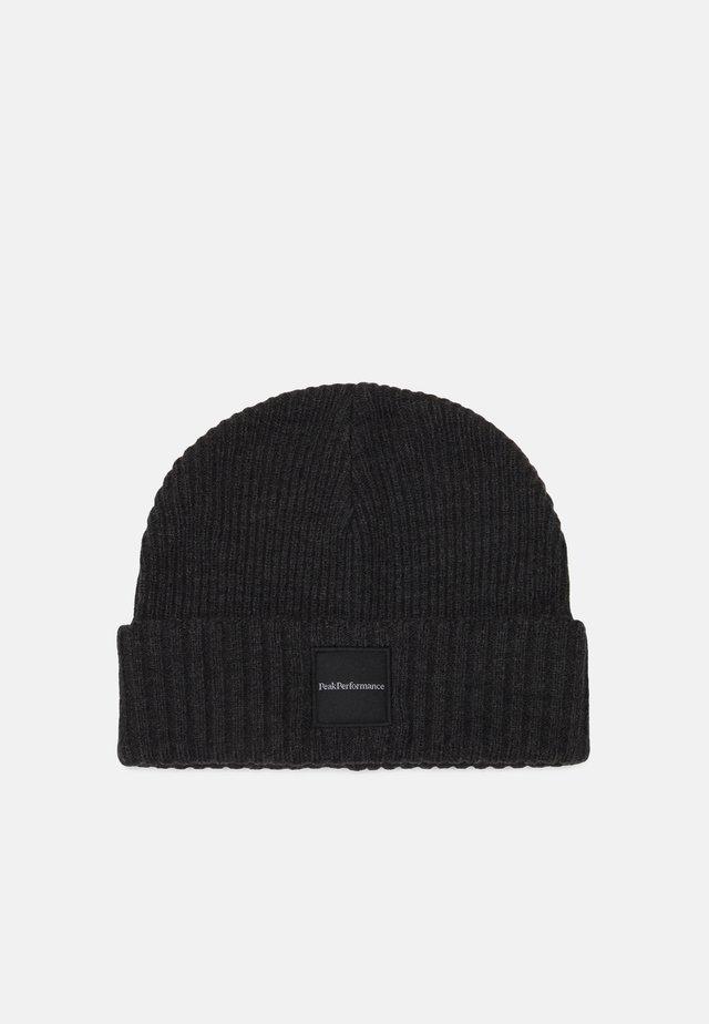 VOLCAN HAT UNISEX - Beanie - dark grey melange