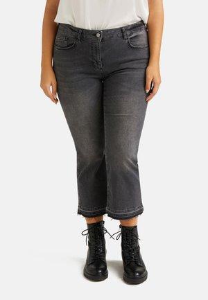 AGATA #LIVEGREEN - Bootcut jeans - grigio