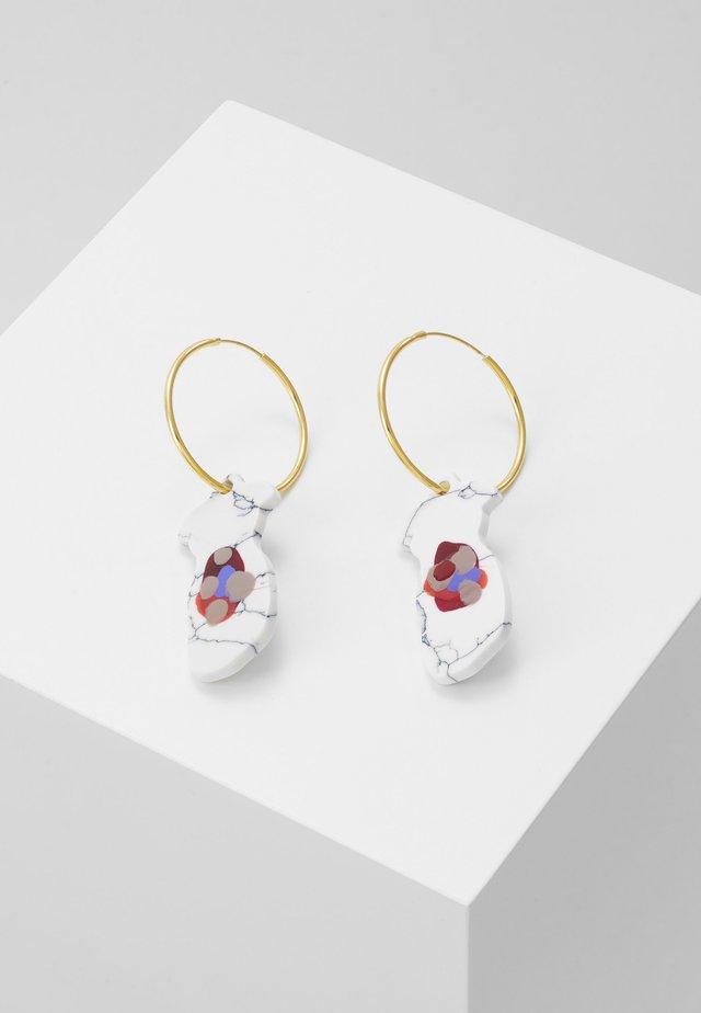 SONDI EARRINGS - Oorbellen - gold