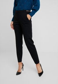 s.Oliver BLACK LABEL - Trousers - forever black - 0