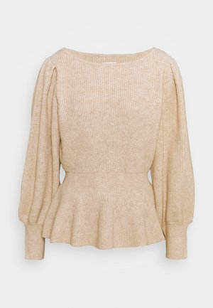 ONLOLINA - Pullover - pumice stone melange