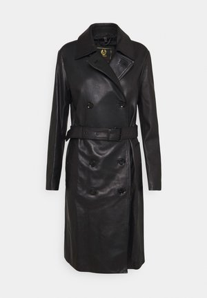 GRETA - Trenchcoat - black