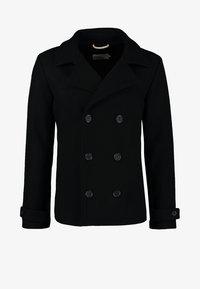 Pier One - Halflange jas - black - 6