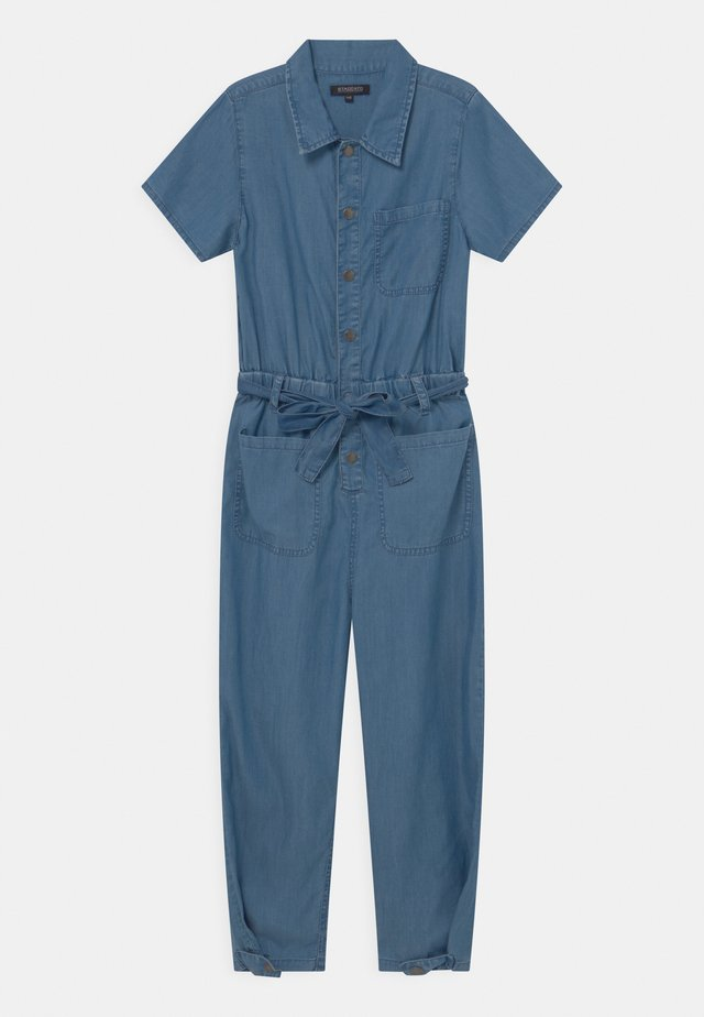 TEENAGER - Jumpsuit - mid blue denim