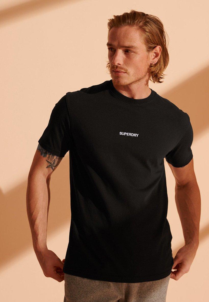 Homme MICRO LOGO BOX FIT - T-shirt imprimé