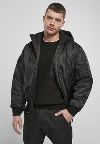 Brandit - HOODED  - Light jacket - black - 0