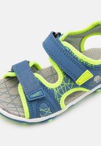 Superfit - MIKE 3.0 - Walking sandals - blau/gelb - 5