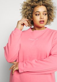 Missguided Plus - WASHED BASIC  - Sweatshirt - rose - 3