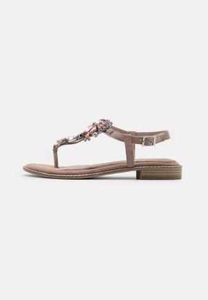 BY GUIDO MARIA KRETSCHMER - T-bar sandals - nude