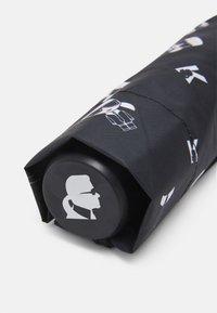 KARL LAGERFELD - IKONIK UMBRELLA - Deštník - black - 2