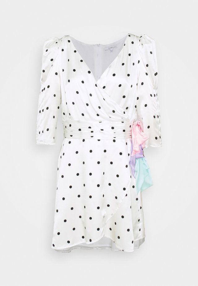 REN DRESS - Korte jurk - white