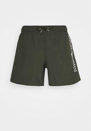 BOXER - Swimming shorts - military green