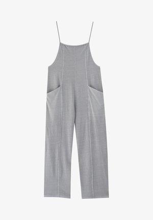 MIT SCHMALEN TRÄGERN - Jumpsuit - dark grey