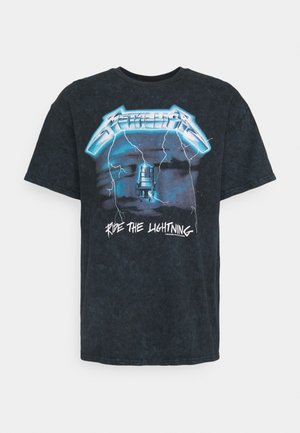METALLICA RIDE THE LIGHTNING - Print T-shirt - washed black