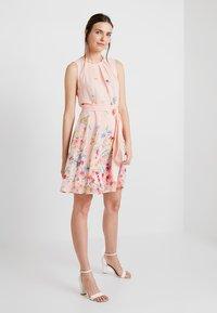 Esprit Collection - FLUENT - Cocktail dress / Party dress - peach - 2