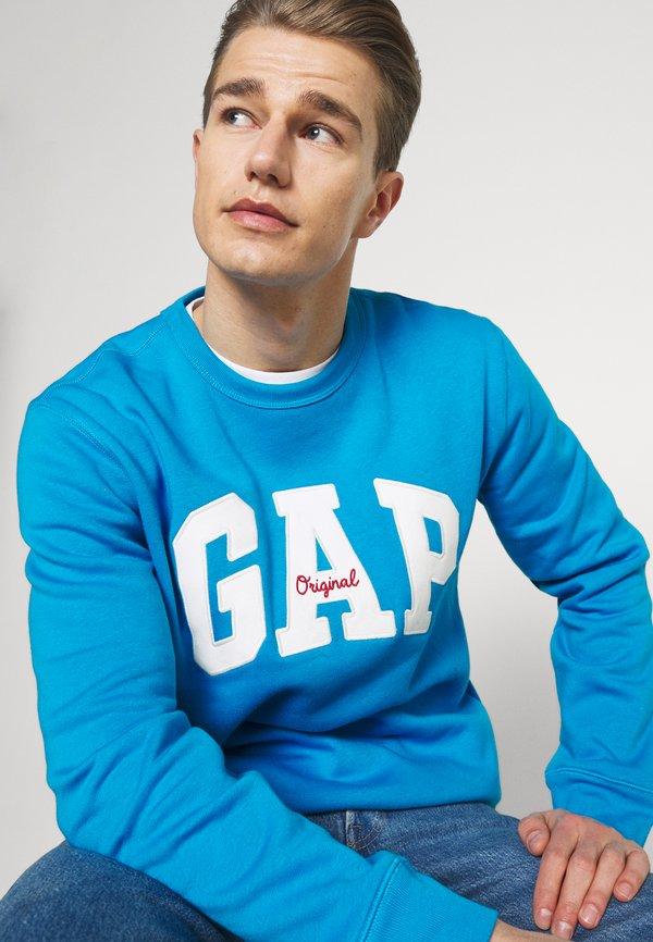 GAP ORIGINAL ARCH CREW - Bluza - arctic blue/jasnoniebieski Odzież Męska QOXO
