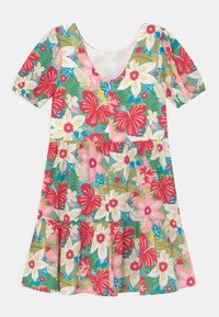 Chi Chi Girls - GIRLS PUFF SLEEVE FLORAL PRINT TIERED DAY DRESS - Denní šaty - multi-coloured - 1