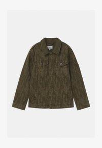 Pepe Jeans - KARSON  - Denim jacket - khaki green - 0