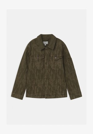 KARSON  - Denim jacket - khaki green