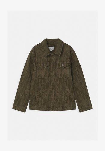 KARSON  - Denim jacket - khaki green