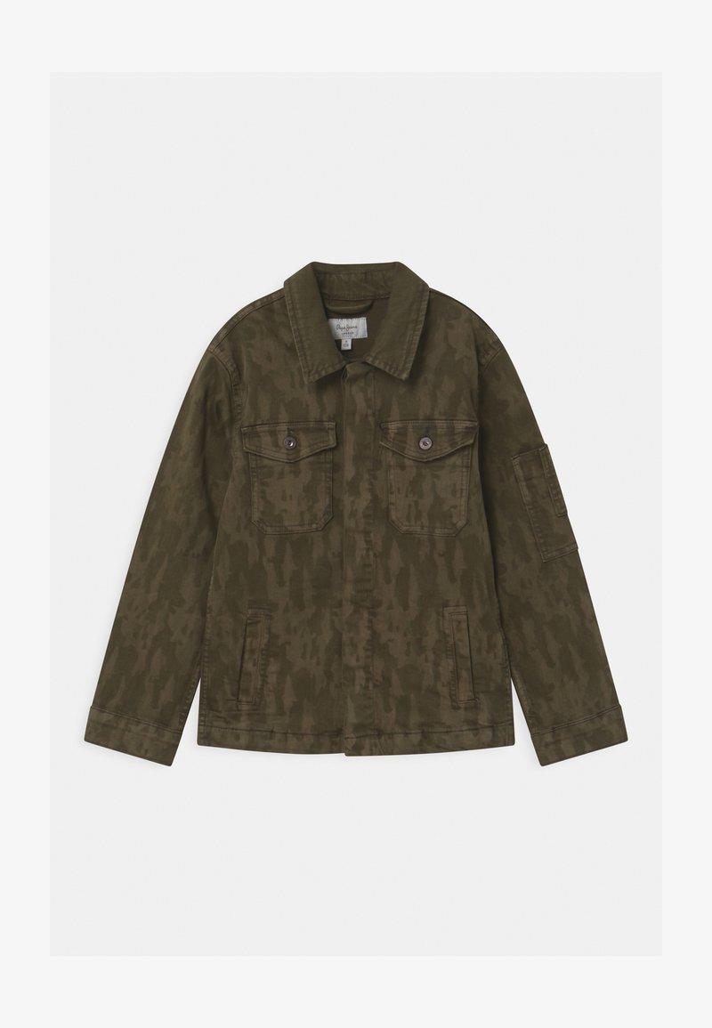Pepe Jeans - KARSON  - Denim jacket - khaki green