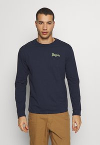Patagonia - YES TO WILDERNESS RESPONSIBILI TEE - T-shirt à manches longues - new navy - 2