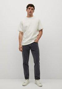 Mango - Jeans Tapered Fit - black denim - 1