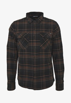 Shirt - carbon/brown