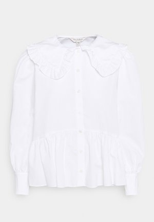 PRAIRIE FRILL COLLAR  - Button-down blouse - white