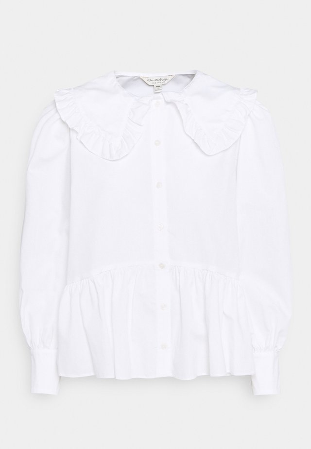 PRAIRIE FRILL COLLAR  - Skjortebluser - white