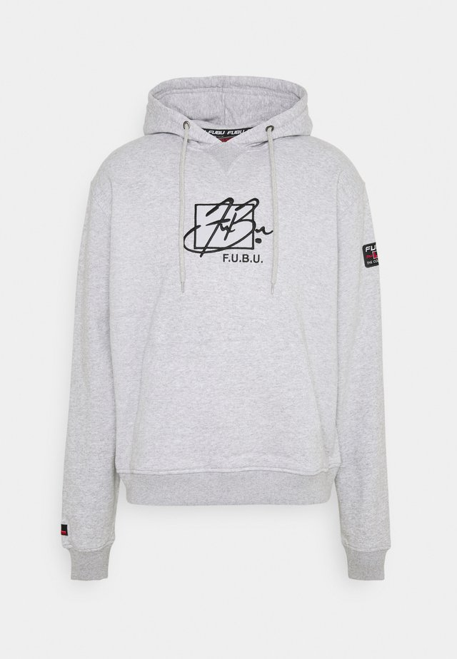 SCRIPT HOODED  - Collegepaita - grey