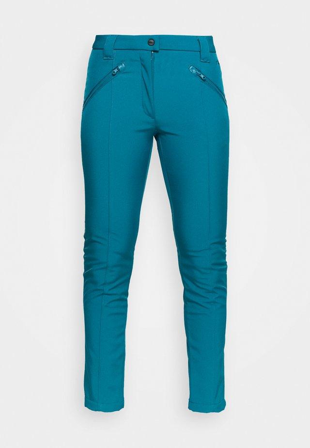WOMAN LONG PANT - Outdoorové kalhoty - deep lake
