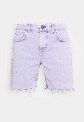 BERMUDA BAGGY - Shorts di jeans - denim