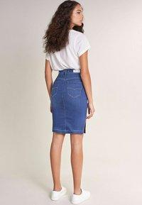 Salsa - RÖCKE SECRET  - Pencil skirt - blue - 2