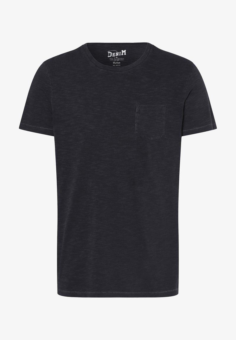 Nils Sundström - Basic T-shirt - anthrazit
