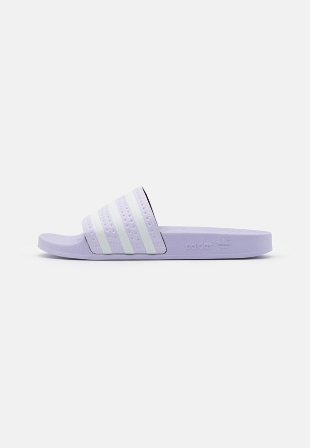 ADILETTE - Mules - purple tint/footwear white