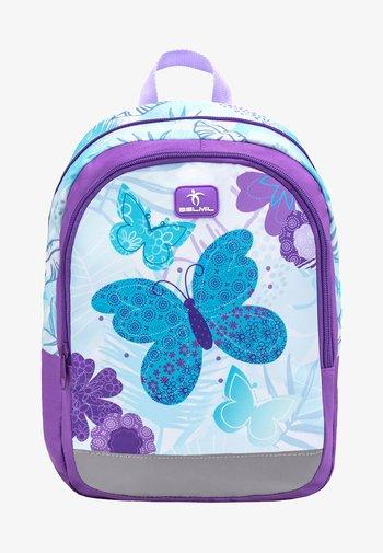 KIDDY - Rucksack - purple/mottled light blue