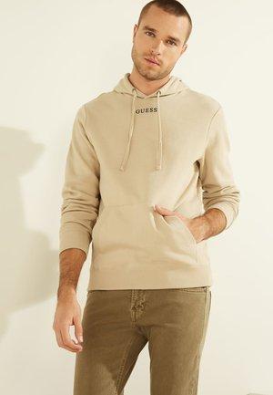 Bluza z kapturem - beige