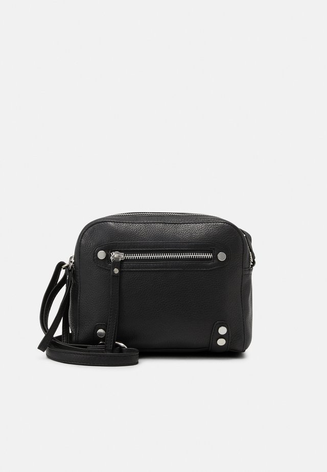 HIGHWAY CROSSBODY - Axelremsväska - black